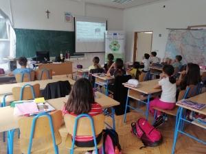 Edukacija o odgovornom postupanju s otpadom u Osnovnoj školi Gruda-10