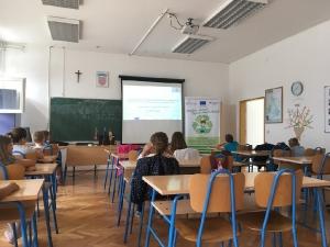 Edukacija o odgovornom postupanju s otpadom u Osnovnoj školi Gruda-1