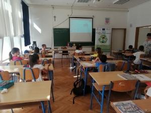 Edukacija o odgovornom postupanju s otpadom u Osnovnoj školi Gruda-3