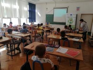 Edukacija o odgovornom postupanju s otpadom u Osnovnoj školi Gruda-4
