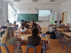 Edukacija o odgovornom postupanju s otpadom u Osnovnoj školi Gruda-7