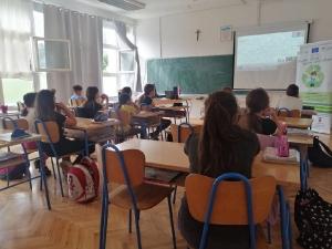 Edukacija o odgovornom postupanju s otpadom u Osnovnoj školi Gruda-8
