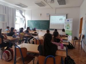 Edukacija o odgovornom postupanju s otpadom u Osnovnoj školi Gruda-9